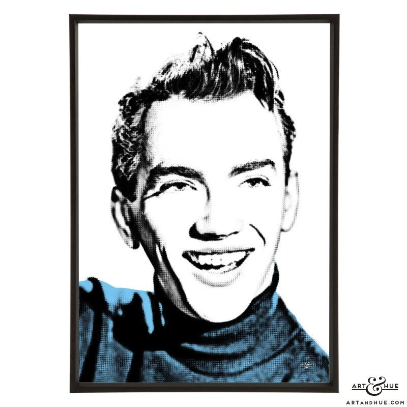 John Fraser stylish pop art print by Art & Hue