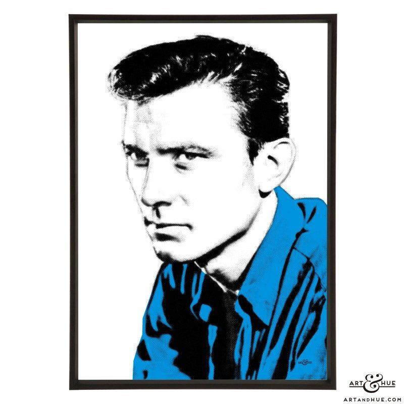 Laurence Harvey stylish pop art print by Art & Hue