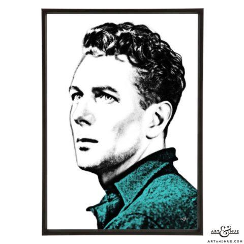 Michael Redgrave stylish pop art print by Art & Hue