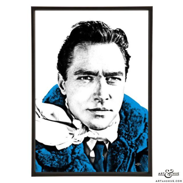 Richard Todd stylish pop art print by Art & Hue