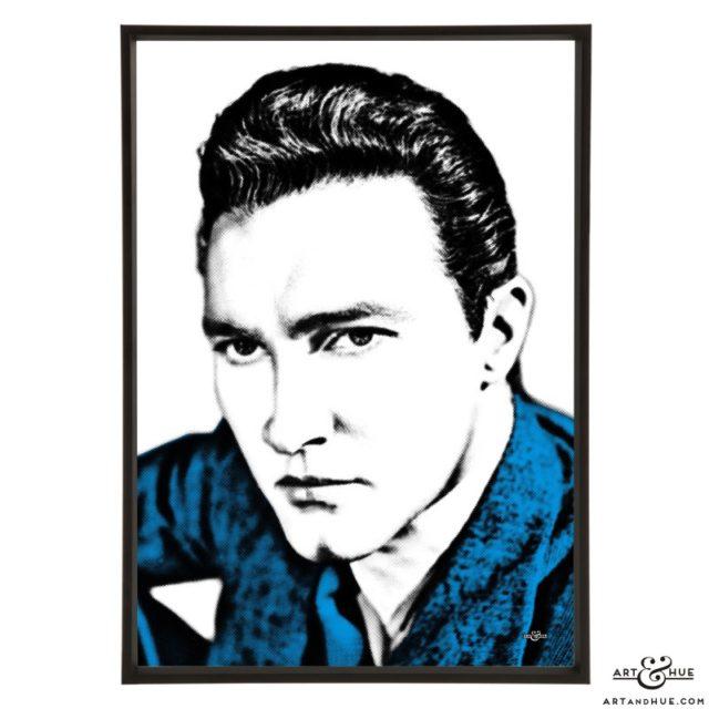 Terence Morgan stylish pop art print by Art & Hue