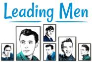 Leading Men Pop Art