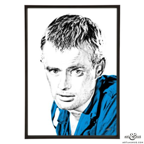 David McCallum stylish pop art print by Art & Hue