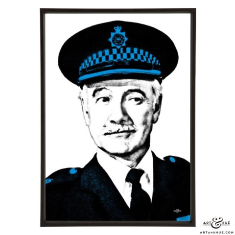 Fulton Mackay stylish pop art print by Art & Hue